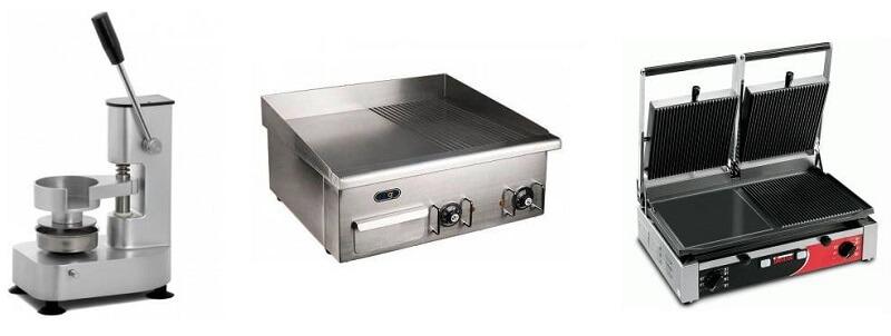 Три вида оборудования для бургерной