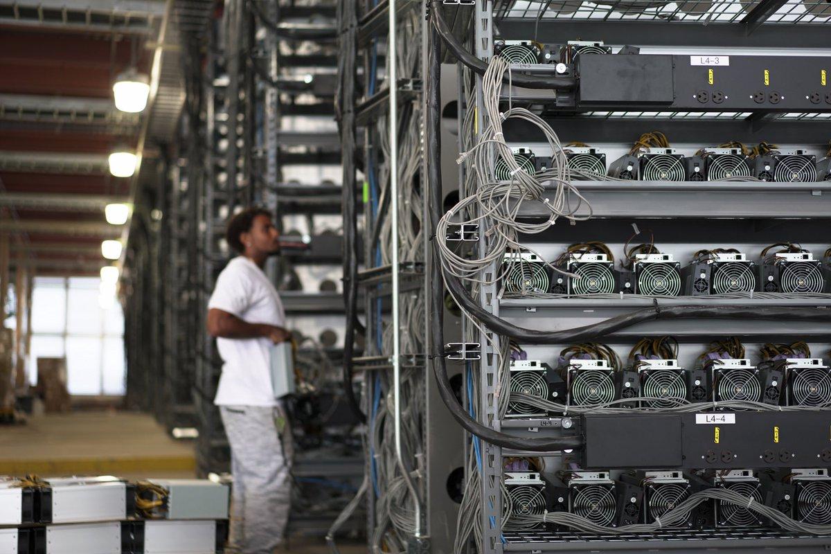 майнинговые фермы для криптовалюты